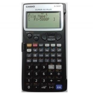 ماشین حساب کاسیو fx-5800p