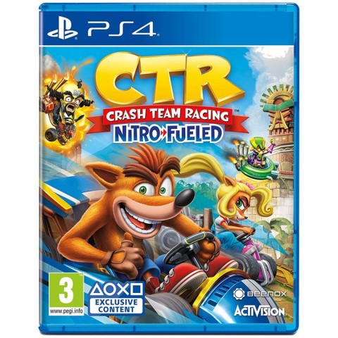 Crash Team Racing Nitro-Fueled - PS4 کارکرده