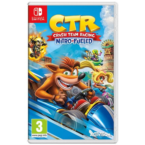 Crash Team Racing Nitro-Fueled - Nintendo Switch کارکرده