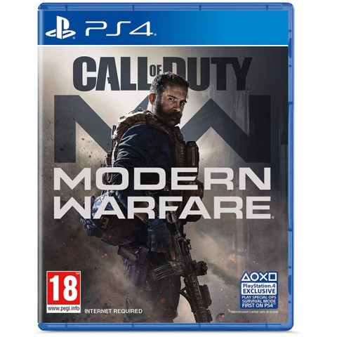 Call Of Duty Modern Warfare - PS4 کارکرده
