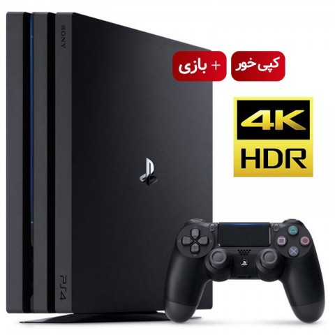 Playstation 4 pro 1TB - R2 - CUH-7216B - With Game