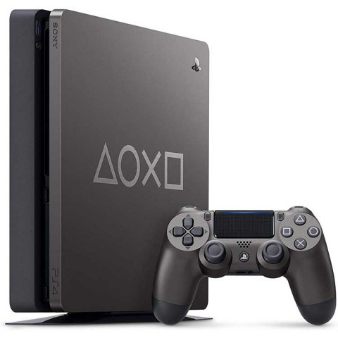 Playstation 4 Slim Days of Play Limited Edition - Steel Black 1TB - R2 - CUH-2216B