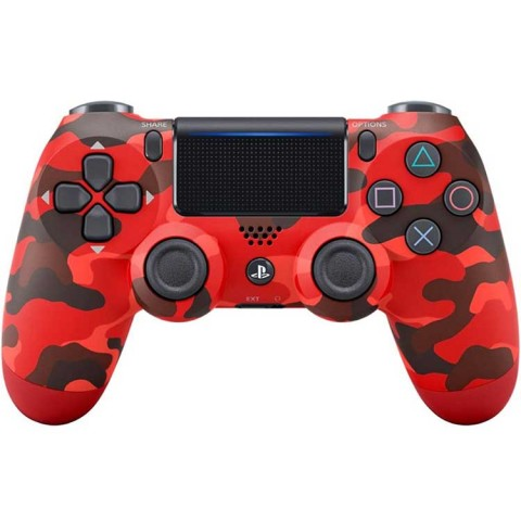 Dualshock 4 Slim Controller - Red Army