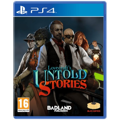 Lovecraft's Untold Stories - PS4