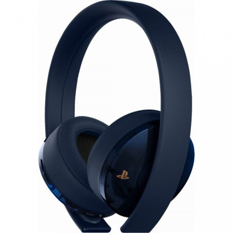 PlayStation Gold Wireless Headset - 500 Million Limited Edition