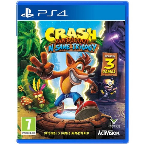 Crash Bandicoot N. Sane Trilogy- PS4 کارکرده