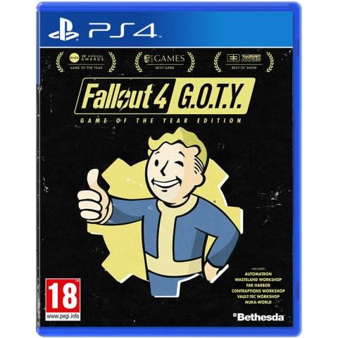 Fallout 4 Game Of The Year Edition - PS4 کارکرده