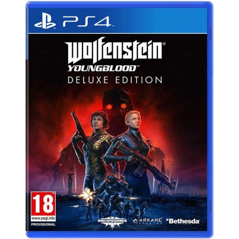 Wolfenstein Youngblood Deluxe Edition - PS4 کارکرده