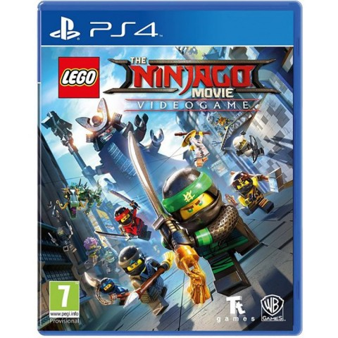 LEGO Ninjago Movie Game - PS4 کارکرده