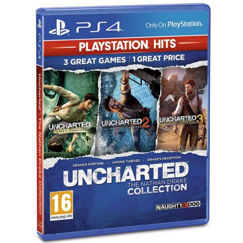 UNCHARTED: The Nathan Drake Collection - PS4 کارکرده