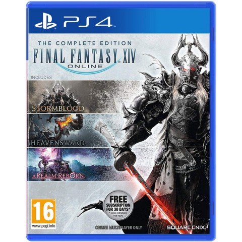 Final Fantasy XIV: The Complete Edition - PS4 کارکرده