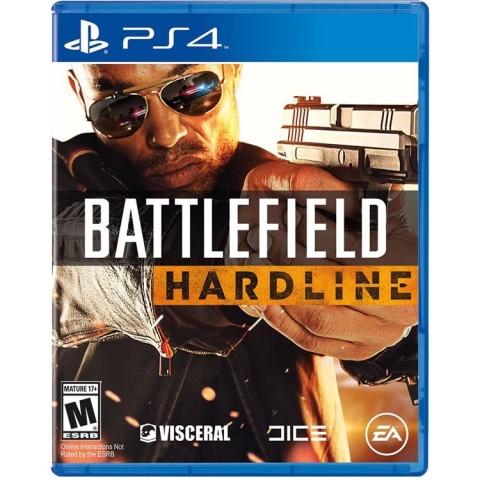 Battlefield Hardline- PS4 کارکرده