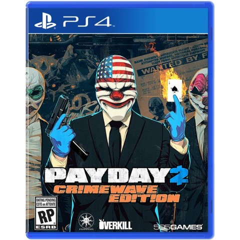 Payday 2: The Big Score - PS4 کارکرده