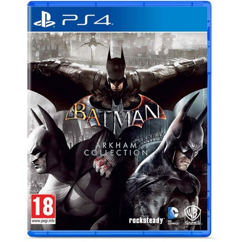 Batman Arkham Collection- PS4 کارکرده