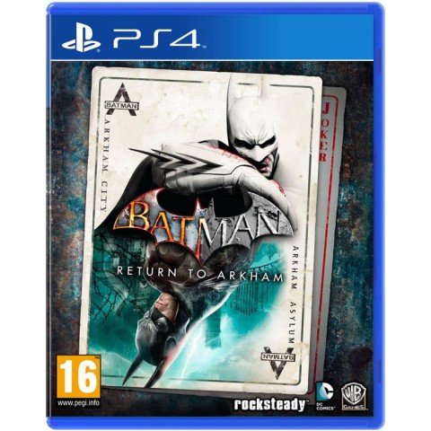 Batman Return to Arkham - PS4 کارکرده