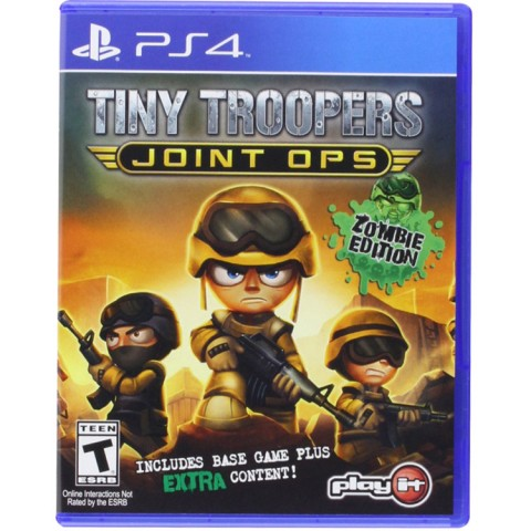 Tiny Troopers - PS4 کارکرده