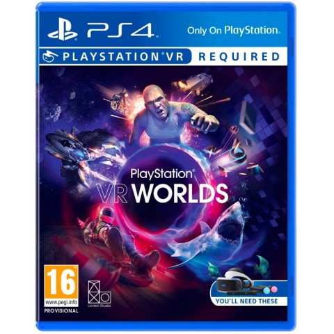 VR WORLDS- PS4 کارکرده