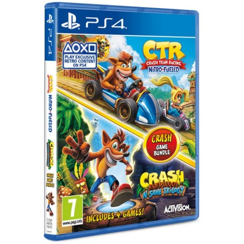 Crash Team Racing Nitro-Fueled and Crash Bandicoot N.Sane Trilogy - PS4