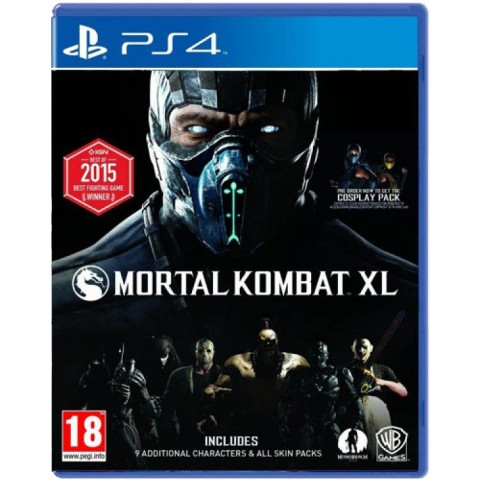 Mortal Kombat XL- PS4 کارکرده