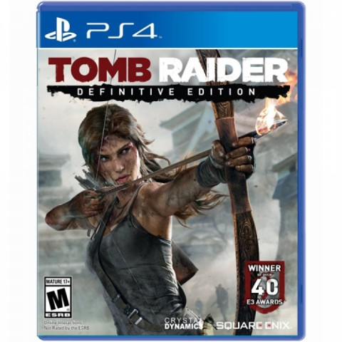 Tomb Raider Definitive Edition - PS4 کارکرده