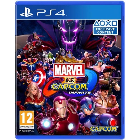 Marvel Vs Capcom Infinite - PS4 کارکرده