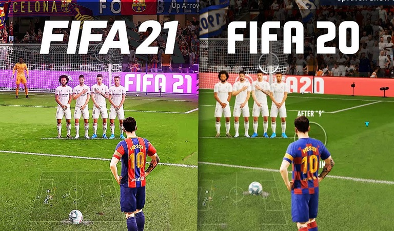 مقایسه بین فیفا 20 و فیفا 21