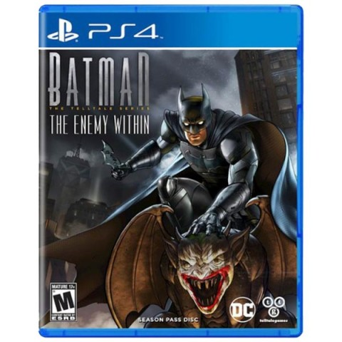 Batman: The Enemy Within - Telltale Series - PS4 کارکرده