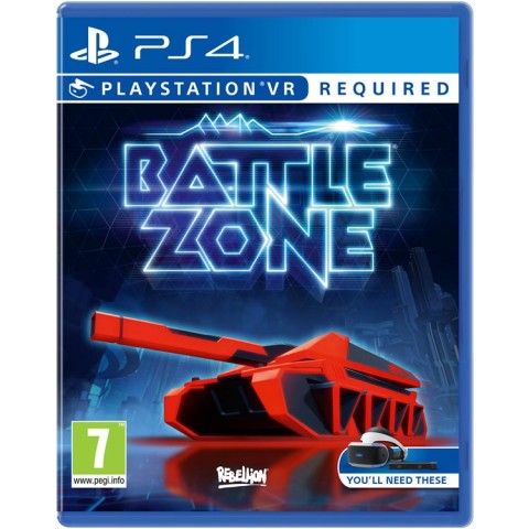 Battle Zone VR - PS4 کارکرده