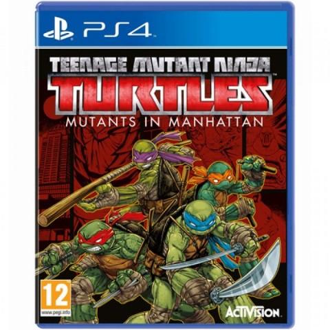 Teenage Mutant Ninja Turtles: Mutants in Manhattan - PS4 کارکرده