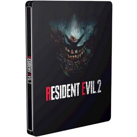 Resident Evil 2 Remake Steelbook Edition - PS4 کارکرده