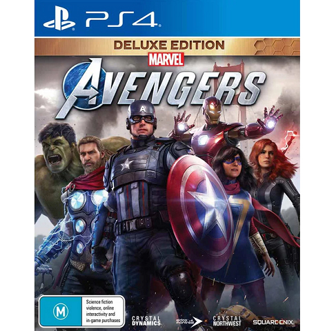 Marvel's Avengers - Deluxe Edition PS4