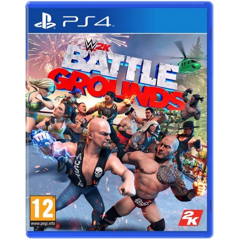WWE 2K Battlegrounds- PS4 کارکرده