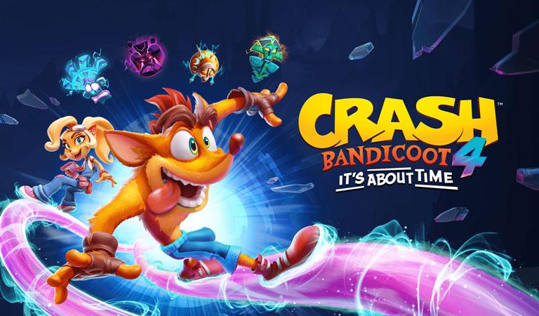 بازی Crash Bandicoot 4: It's About Time در صدر جدول فروش هفتگی انگلستان قرار گرفت