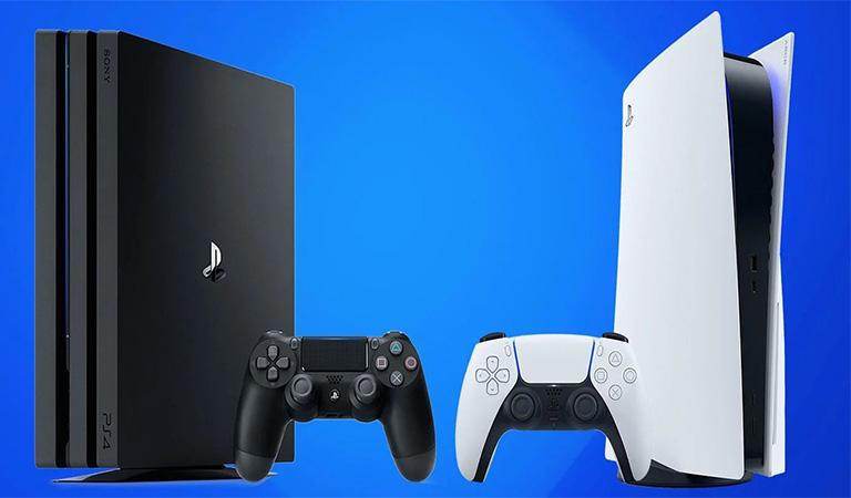 نحوه انتقال اطلاعات به  کنسول PS5  روی جعبه کنسول نوشته شده است