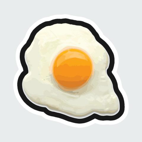 sticker egg