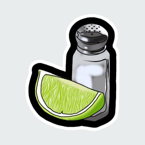 Stickers salt
