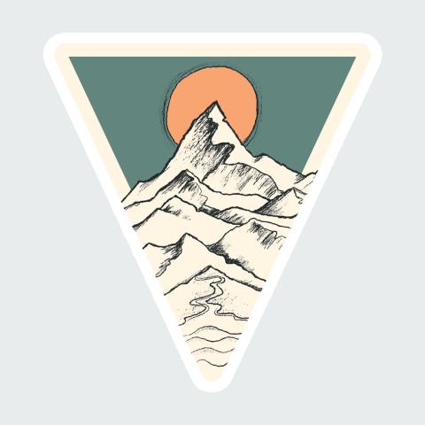 Stickers Mountain