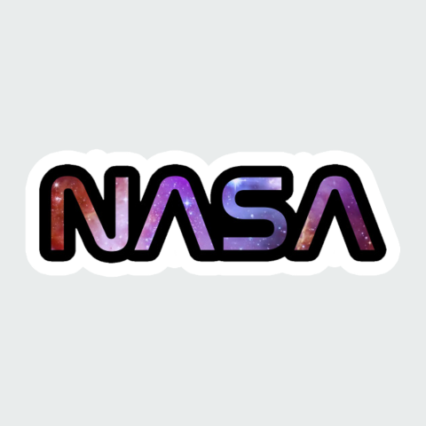 Stickers nasa