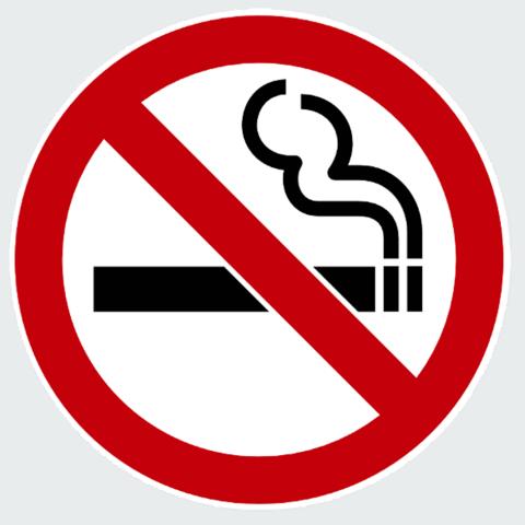 Stickers No Smoking