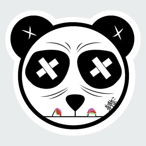 Stickers Panda2