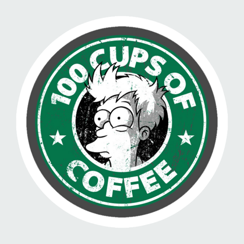 Stickers Simson StarBucks