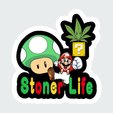 Stickers Stoner Life
