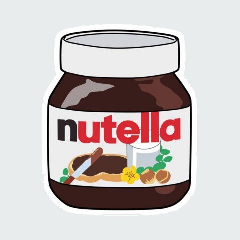 Stickers Nutella
