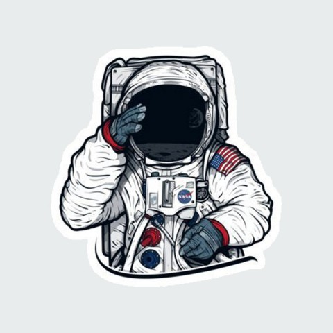 Stickers Space m