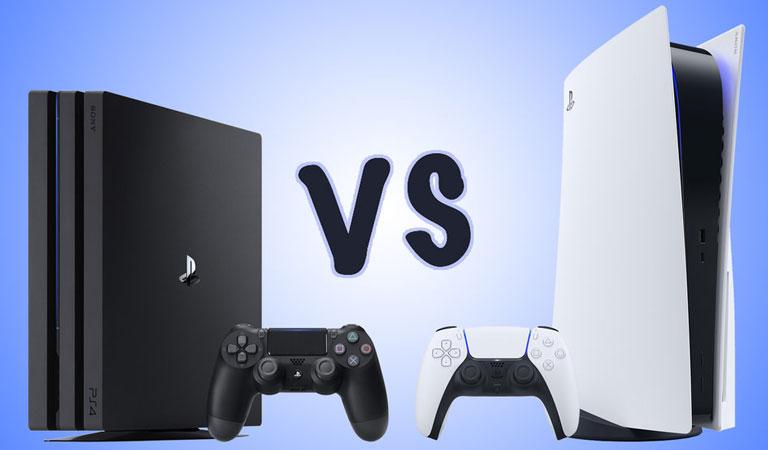 PS4 بخریم یا PS5 ؟ مقایسه کنسول های پلی استیشن 4  و 5