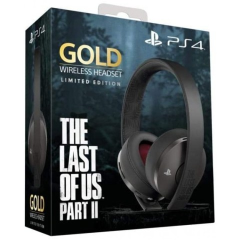 PlayStation Gold Wireless Headset The Last of Us Part II Limited Edition