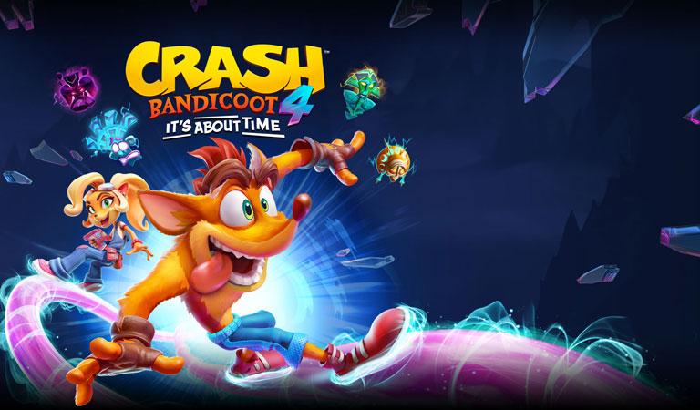 نقد و بررسی بازی کرش بندیکوت 4 - Crash Bandicoot 4: It's About Time