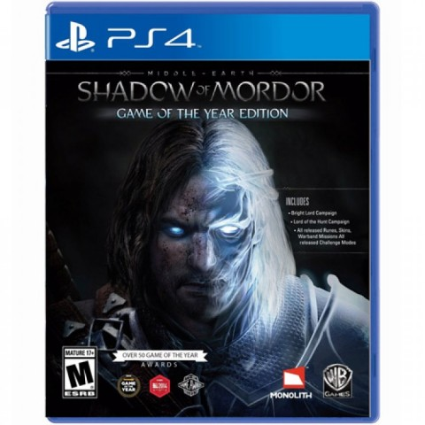 Middle-earth: Shadow of Mordor - PS4 کارکرده