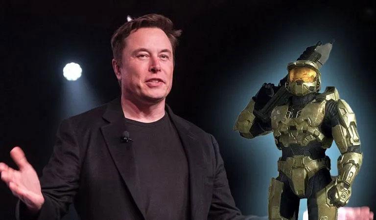 همکاری ایکس باکس با ایلان ماسک در ارتباط با بازی Halo