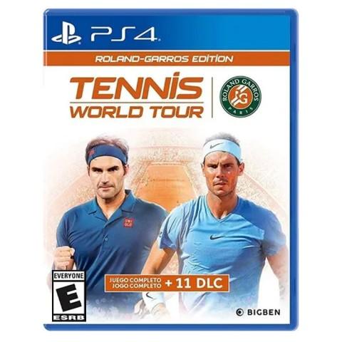 Tennis World Tour Roland Garros Edition - PS4